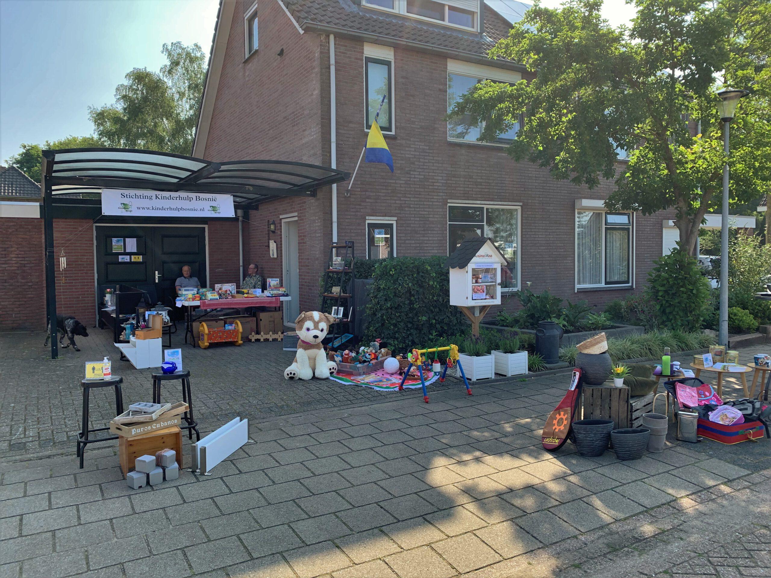 Opbrengst Garden Sale €305,-